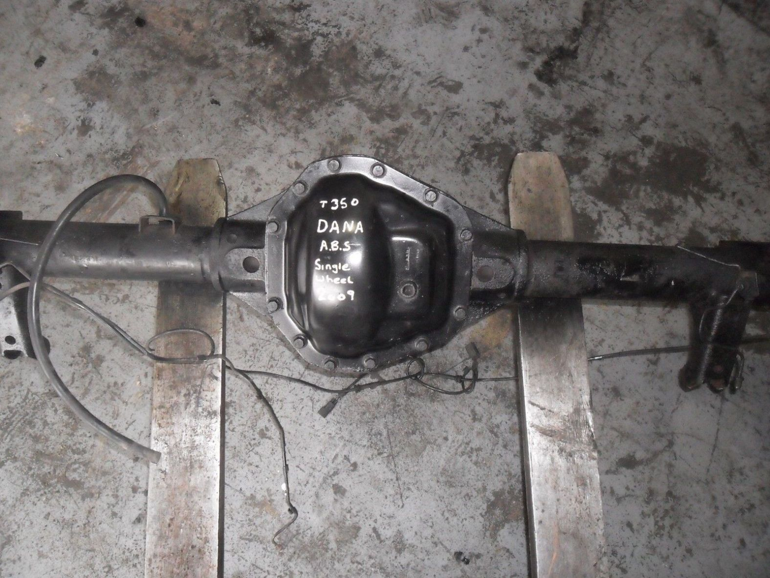 FORD TRANSIT 2 4TDCI REAR AXLE 06 ON MK7 6 SPEED